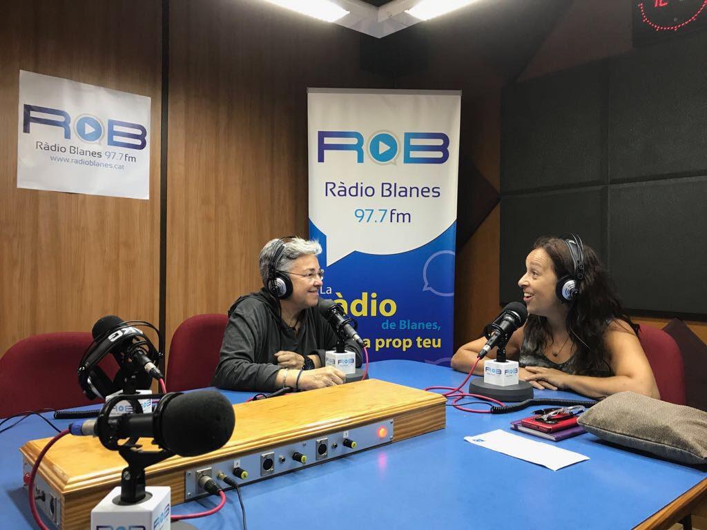 Entrevista al 'Va de dones' de Ràdio Blanes